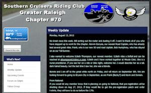 Southern Cruisers Riding Club: Raleigh